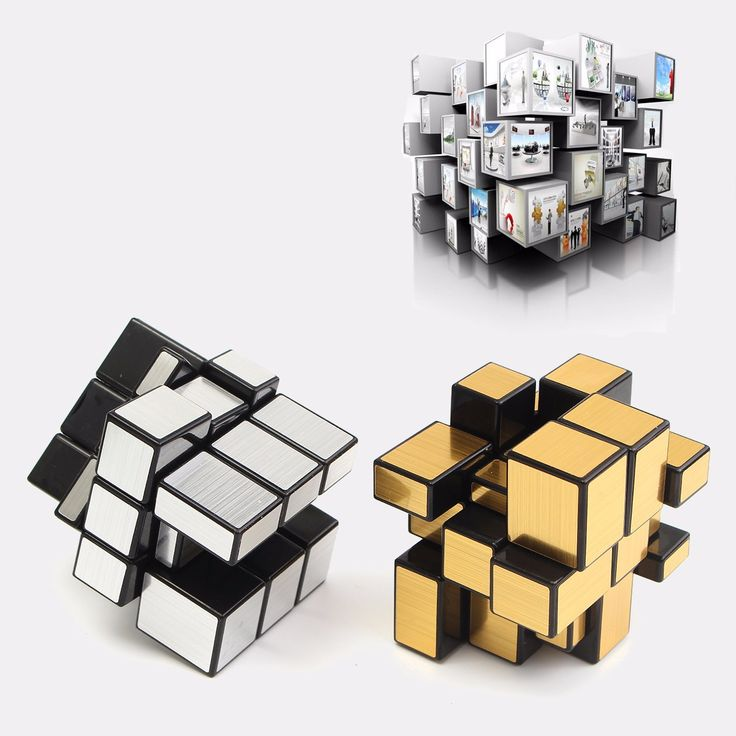 Well-reviewed 3x3x3 Mirror Magic Speed Cube Ultra-smooth Professional Puzzle Twist Toy Gift Intelligence Toys - NewChic