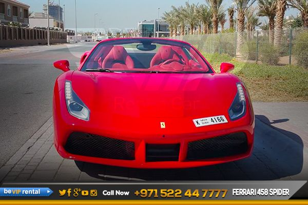 The Ferrari 488 For Rent Is Available In Be Vip Luxury Sport Car Rental In Dubai Make Your Dream Come True By Driving S Ferrari 488 Sports Car Rental Ferrari