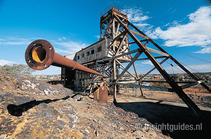 Junction Mine, Broken Hill, Australië.