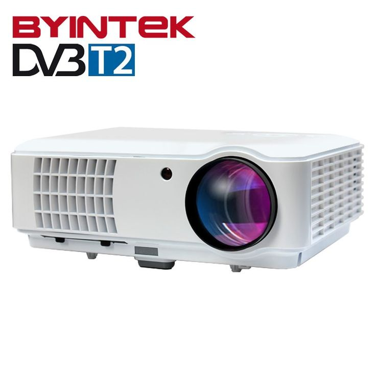 BYINTEK RD804 DVBT2 ATV 1280x800 Digital cL720 WXGA 1080P Video LCD Portable Home Theater HDMI HDTV USB Video LED HD Projector //Price: $276.46//     #storecharger