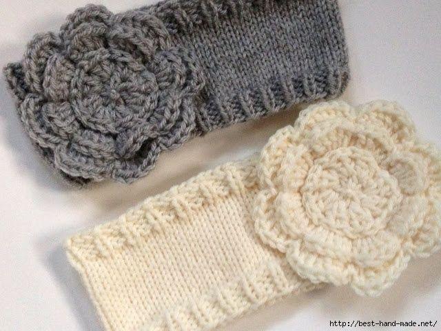 176 best Tiara de crochet images on Pinterest | Headband crochet ...