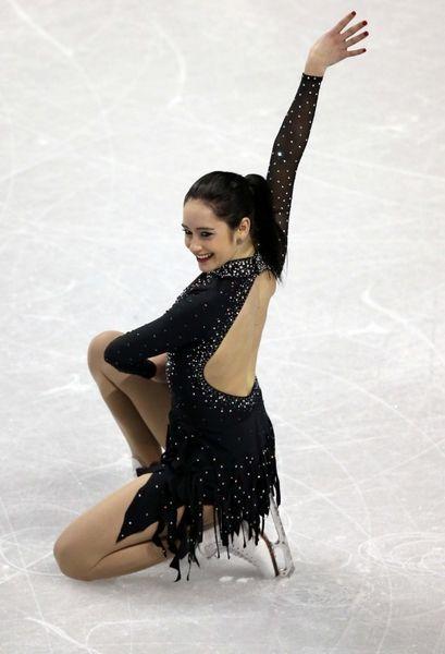 Kaetlyn Osmond. Canadian Olympic skater
