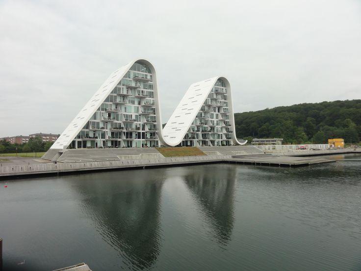 Bijzondere huizen in Vejle (Denemarken)