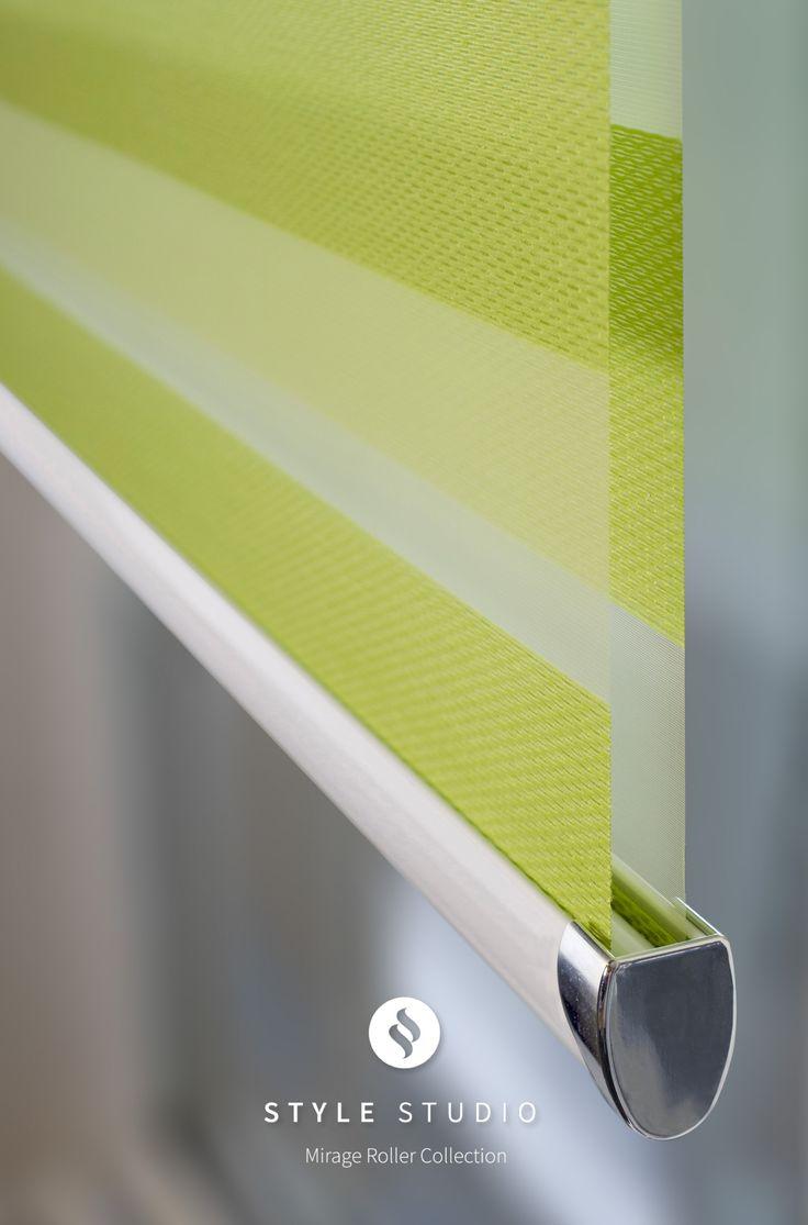 Embrace Lime Style Studio Mirage Roller Blind