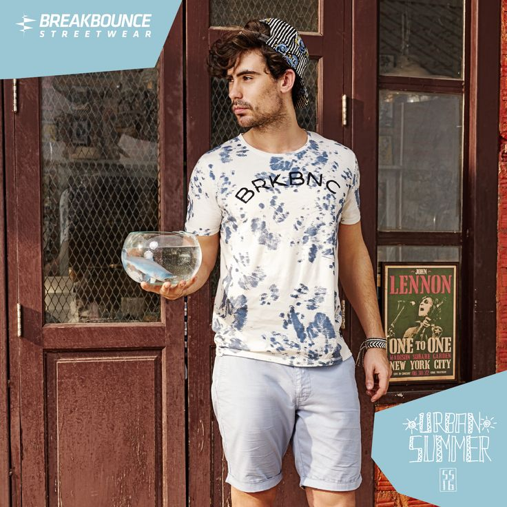 Look fly on the streets in Breakbounce Urban Summer #menswear #mensfashion #streetstyle #streetwear #men #menstyle