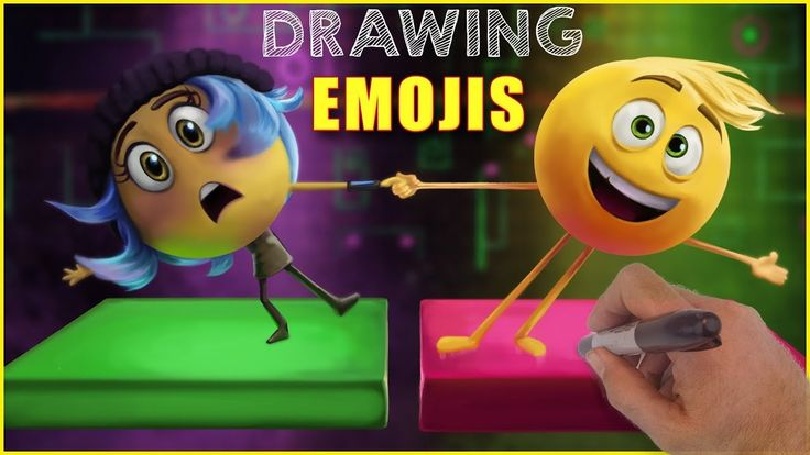 Drawing Emoji Movie We Draw Jailbreak And Gene As They Play Dance Dance Revolution Emoji Movie Kids Coloring Books Coloring For Kids