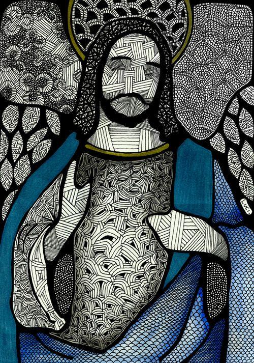 Jesus - Luciana Pupo Art