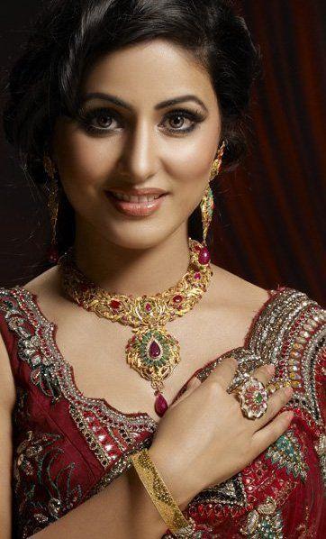 Heena khan shooting for jewelry company