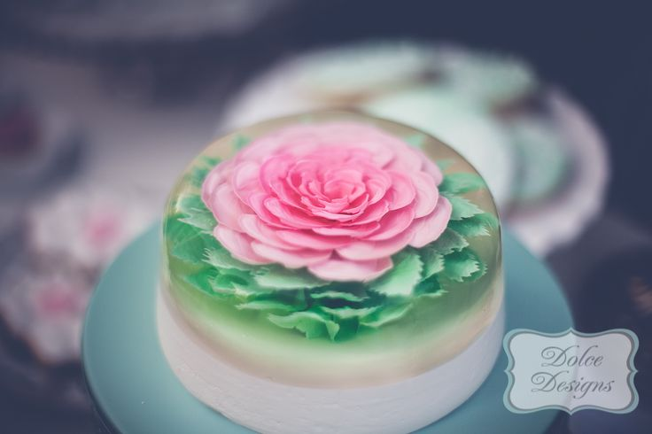 Best images about gelatinas florales on pinterest