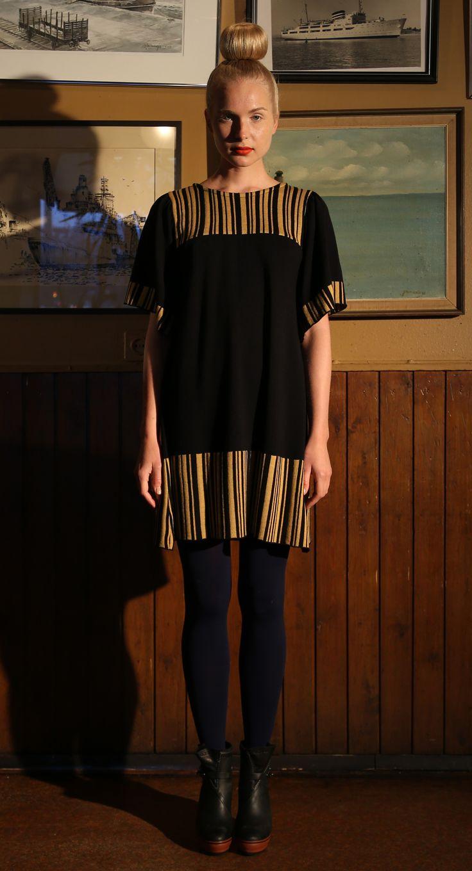 Ivana Helsinki AW13 collection: Elena yellow dress   #ivanahelsinki #fashionflashfinland #fashion #fashiondesigner #designer #aw13 #collection #Finland #Helsinki