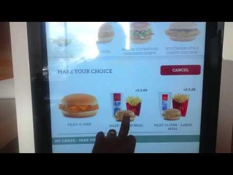 McDonalds Kiosk Machine Order NOW In America $15 hr Jobs Gone