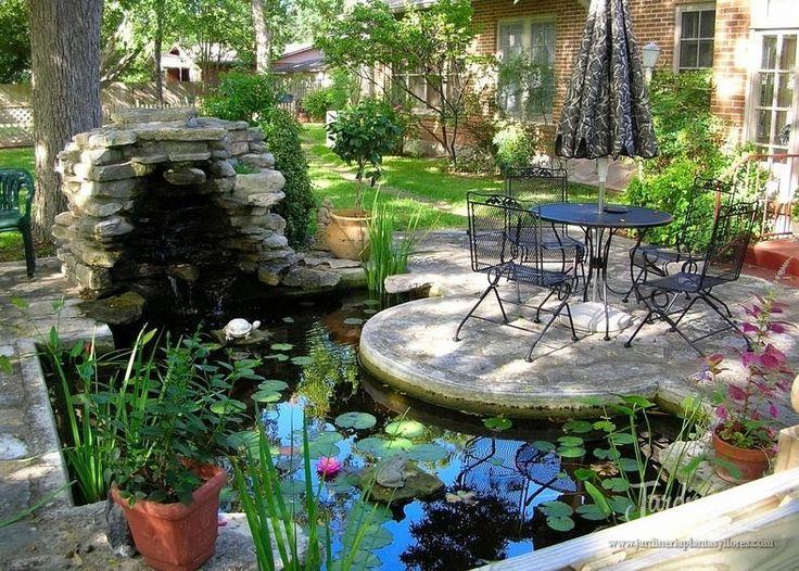 74 mejores im genes sobre jardines y terrazas en pinterest - Fuentes para terrazas ...