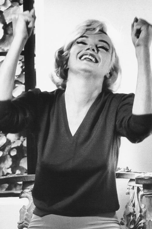 Marilyn photographed by Allan Grant during her last interview for Life magazine, 1962.