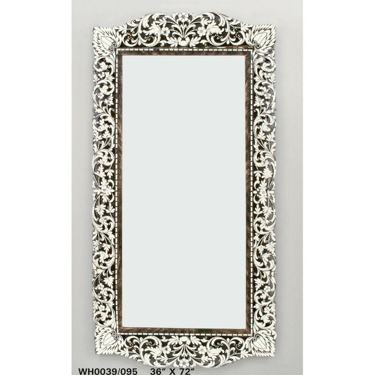 Handcut Glass Extra Large Mirror