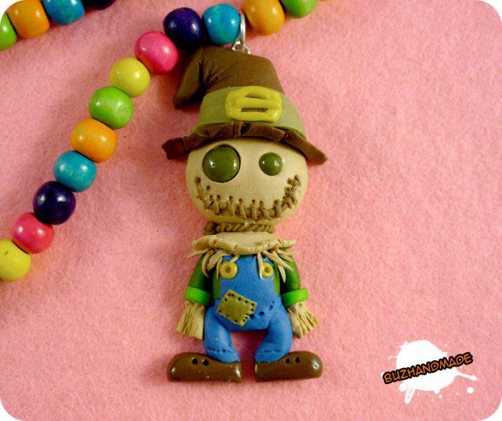 FIMO - Scarecrow Wizard of OZ by buzhandmade on deviantART