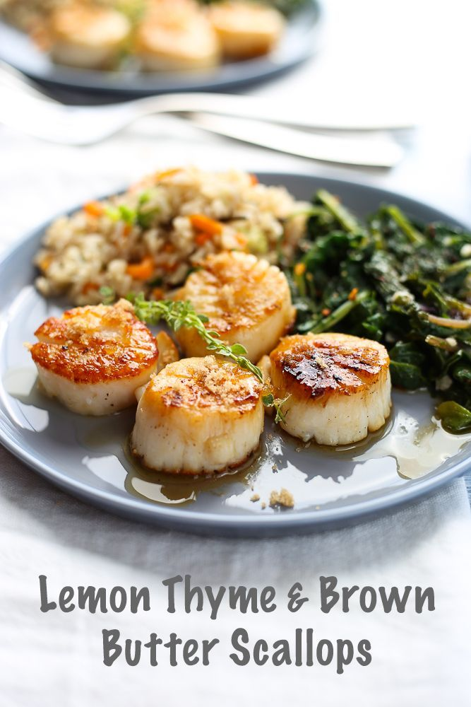 This is the best recipe for scallops!! YUM! | 3scoopsofsugar.com