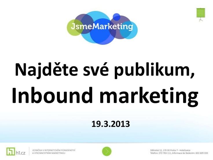 inbound marketing pro malé a střední firmy...