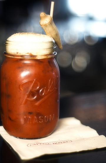 Bloody Mary at Capital Bar and Grill