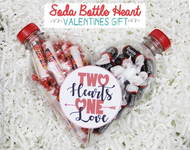 Plastic Soda Bottle Heart