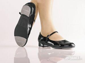 TA07 - Stepovacie topánky - Obuv - Stepovacia obuv - Stepovacie topánky - Začiatočníci - Stepovacia obuv - Stepovacie topánky  pre začiatočníkov, remienka so sponou, poloohybné, vankúšová stielka aj zvršok -  Podpätok: 1 '' - Materiál: polyuretánSoDanca - 5kdance.sk