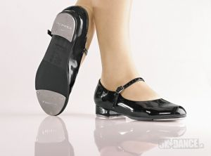 TA06 - Stepovacie topánky - Obuv - Stepovacia obuv - Stepovacie topánky - Detské - začiatočníci - Stepovacia obuv - Stepovacie topánky - detské pre začiatočníkov, remienka so sponou, poloohybné, vankúšová stielka aj zvršok - Podpätok: 1 '' - Materiál: polyuretán - SoDanca - 5kdance.sk