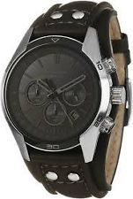 Fossil Chronograph Analog Black Dial Men's Watch - CH2586