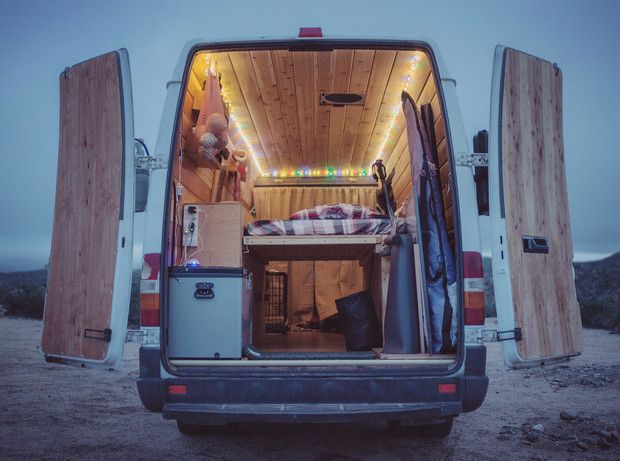 How To Hack Your Van Into The Ultimate Camper