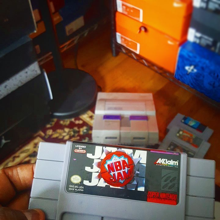 On instagram by ozzie82 #segagenesis #microhobbit (o) http://ift.tt/2akIIgj this day in 1993...NBA JAM was release...BooM ShakaLaKa! #NBAJAM #snes #supernintendo #nintendo #boomshakalaka #nes #gamecollector #genesis  #sega #playstation #ps3 #ps4 #ps2 #ps1 #gamecollection #gamestop #xbox #xbox360 #xboxone #16bits #16bit  #90babies #sneakerhead #sneakerheads #23jumpman #footwear #kicks #igsneakercommunity #igkicks