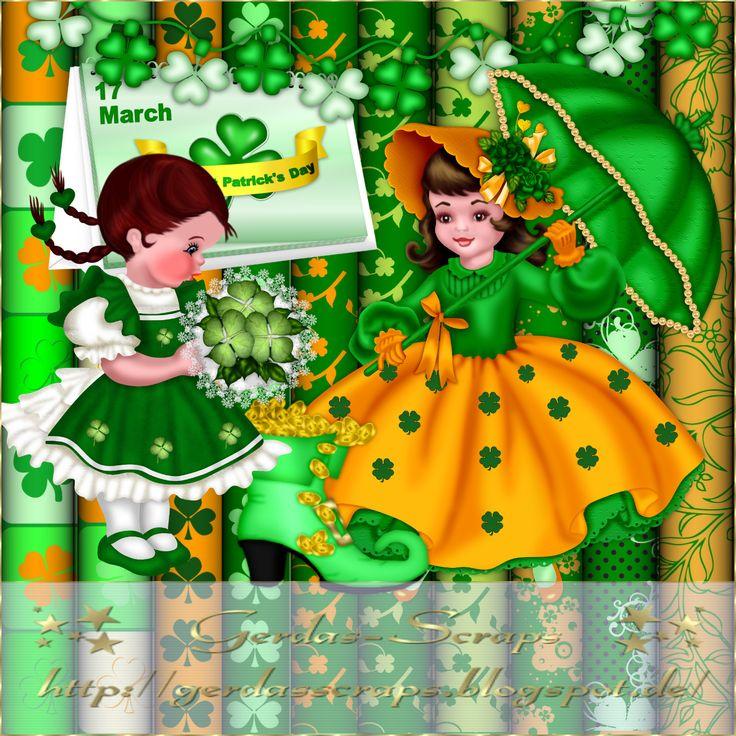 Gerdas Scrap's: Scrap Sankt Patricks Day