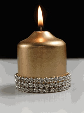 rhinestone band: Rhinestones Wraps, Bling Candles, Rhinestones Candles, Diamonds Rhinestones, Candles Lamps Lighting, Pillar Candles, Rhinestones Ribbons, Ribbons Wraps Adh, Wraps Adh Diamonds