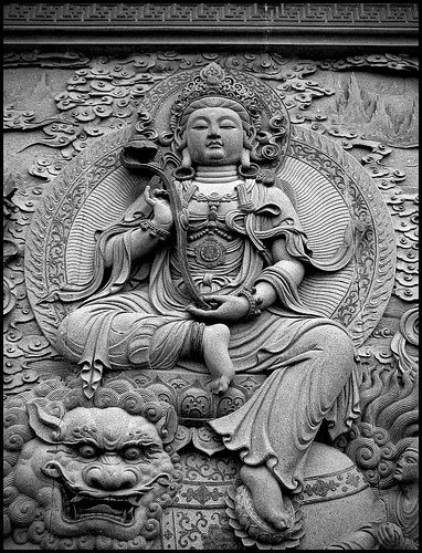 "buddhabe:    Guanyin    ""Namo Guan Shih Yin Pusa""Putuoshan, China* Arielle Gabriel writes about miracles and travel in The Goddess of Mercy & The Dept of Miracles also free China toys and paper dolls at The China Adventures of Arielle Gabriel *"