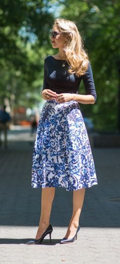 So pretty! Not sure if I would have enough to wear the skirt with, but I like it