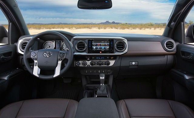 2017 Toyota Tacoma is the featured model. The 2017 Toyota Tacoma Interior image is added in car pictures category by author on Aug 13, 2016.