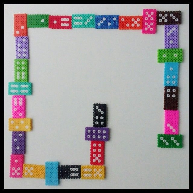 Domino hama beads by celia_efe