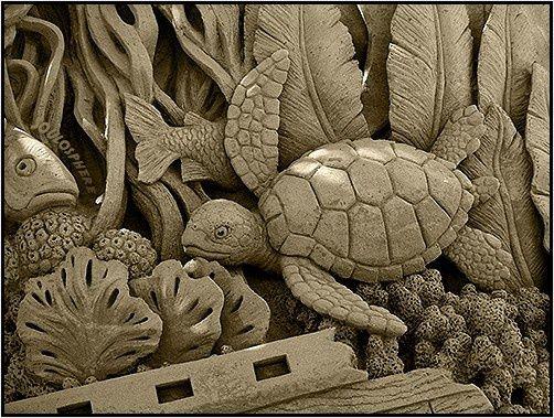 amazing sand sculpture art