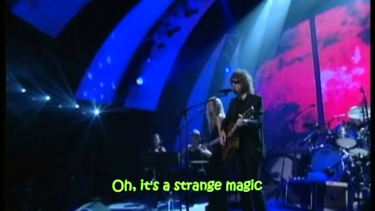 ELO - Strange Magic (with lyrics)