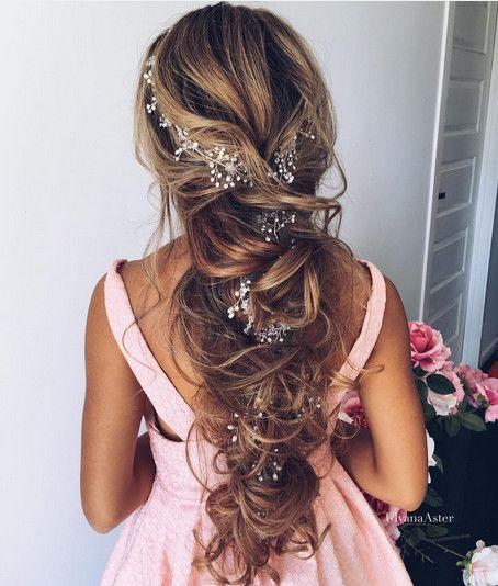Romantic Accessories - Elegant Wedding Hairstyles With Headpieces - Photos