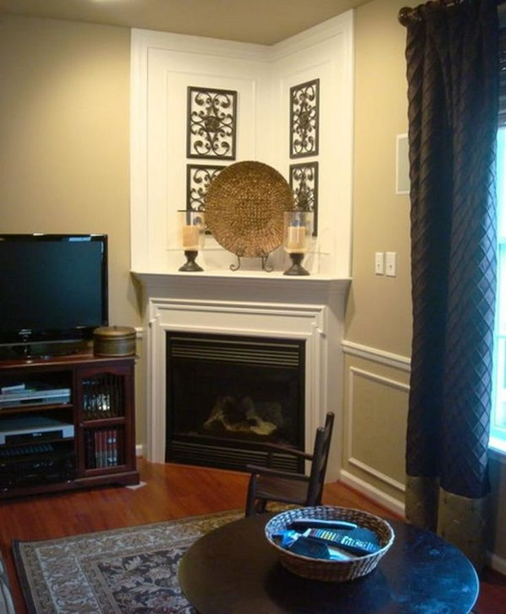 Find This Pin And More On Fireplaces By Cathylynnk. Traditional Living Room Corner  Fireplaces Design, Pictures ...