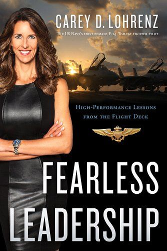 ABSOLUTELY AMAZING!! She is such a BADASS and I LOVE her!!!!! <3  Fearless Leadership: High-Performance Lessons from the Flight Deck by Carey Lohrenz http://www.amazon.com/dp/1626341133/ref=cm_sw_r_pi_dp_azTfub1ZAG6AY