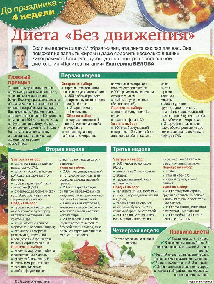 Форум диета ру дневник