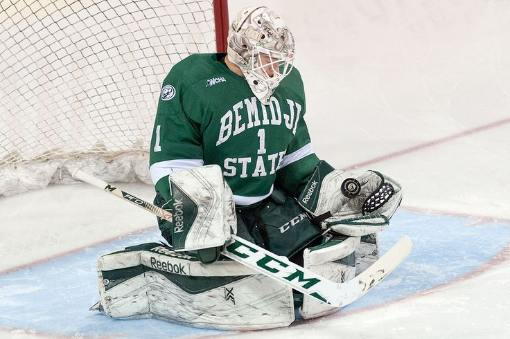 Michael Bitzer turned aside 17 shots in a 50 shutout over