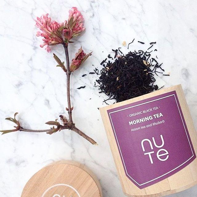 Morning tea = our before noon tea ☕️ #nuteorganic #nute #morningtea #organictea