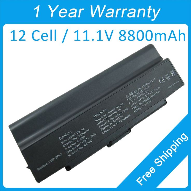 8800mah laptop battery VGP-BPL2.CE7 for sony VGN-S90PSY3 VGC-LB92HS VGN-FS7902 VGN-S91PSY2 VGN-FE41S VGN-FS840/W VGN-S90PSY4 #Affiliate