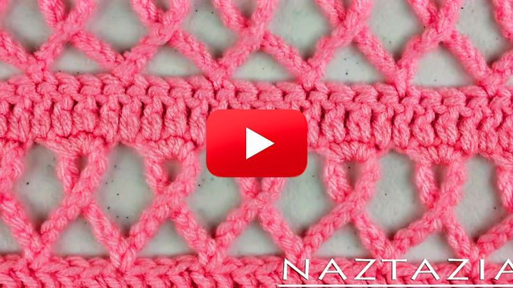Learn How To Crochet This Pink Ribbon Scarf! ༺✿ƬⱤღ  http://www.pinterest.com/teretegui/✿༻