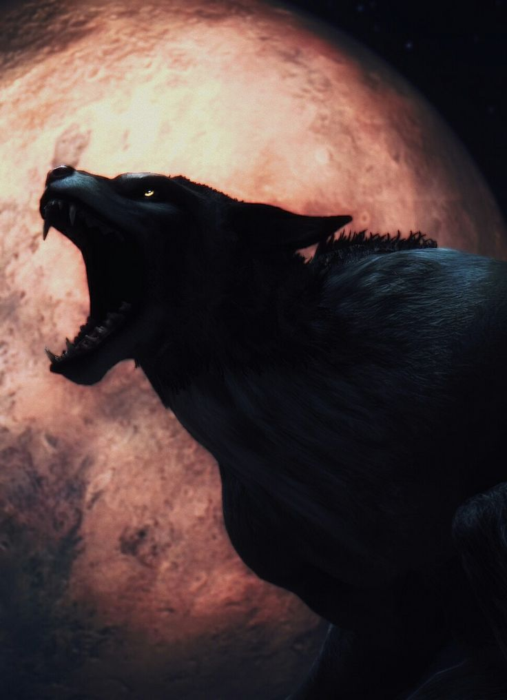Blood moon werewolf