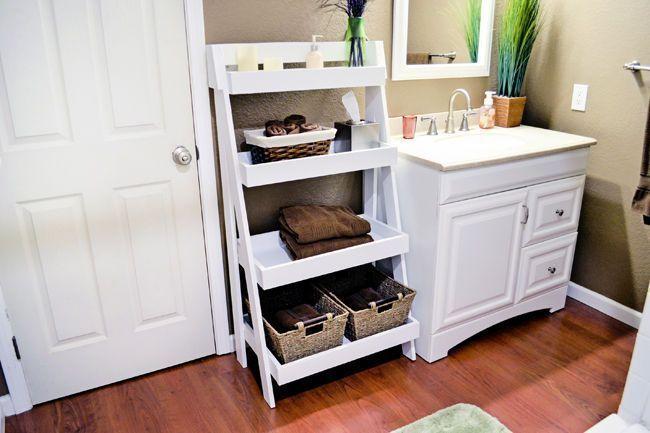 DIY Tiered Bathroom Shelving   – Home & Garden Photography – #bathroom #Diy #Gar…   – most beautiful shelves