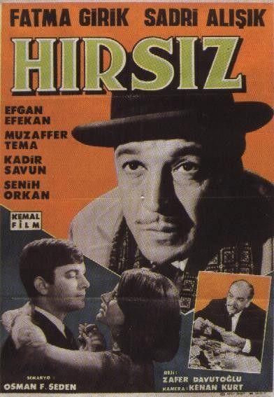 Hırsız (1965) Sadri Alışık, Fatma Girik, Senih Orkan - Page 1
