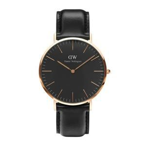 Montre Daniel Wellington Classic Noir Sheffield - Cdiscount = 103 €