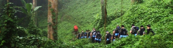 KOKODA TRAIL - Rated as one of the top ten treks in the world, the Kokoda in Papua New Guinea holds a significant place in WWII history and spans 96 km (60 miles) through rugged jungle and local villages.