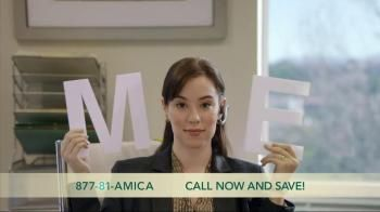 Amica offers auto, home and life insurance. With a discount on combining lines of insurance, customers can get the coverage they need. In this commercial, a no-obligation quote with Amica Mutual Insurance is free. - iSpot.tv